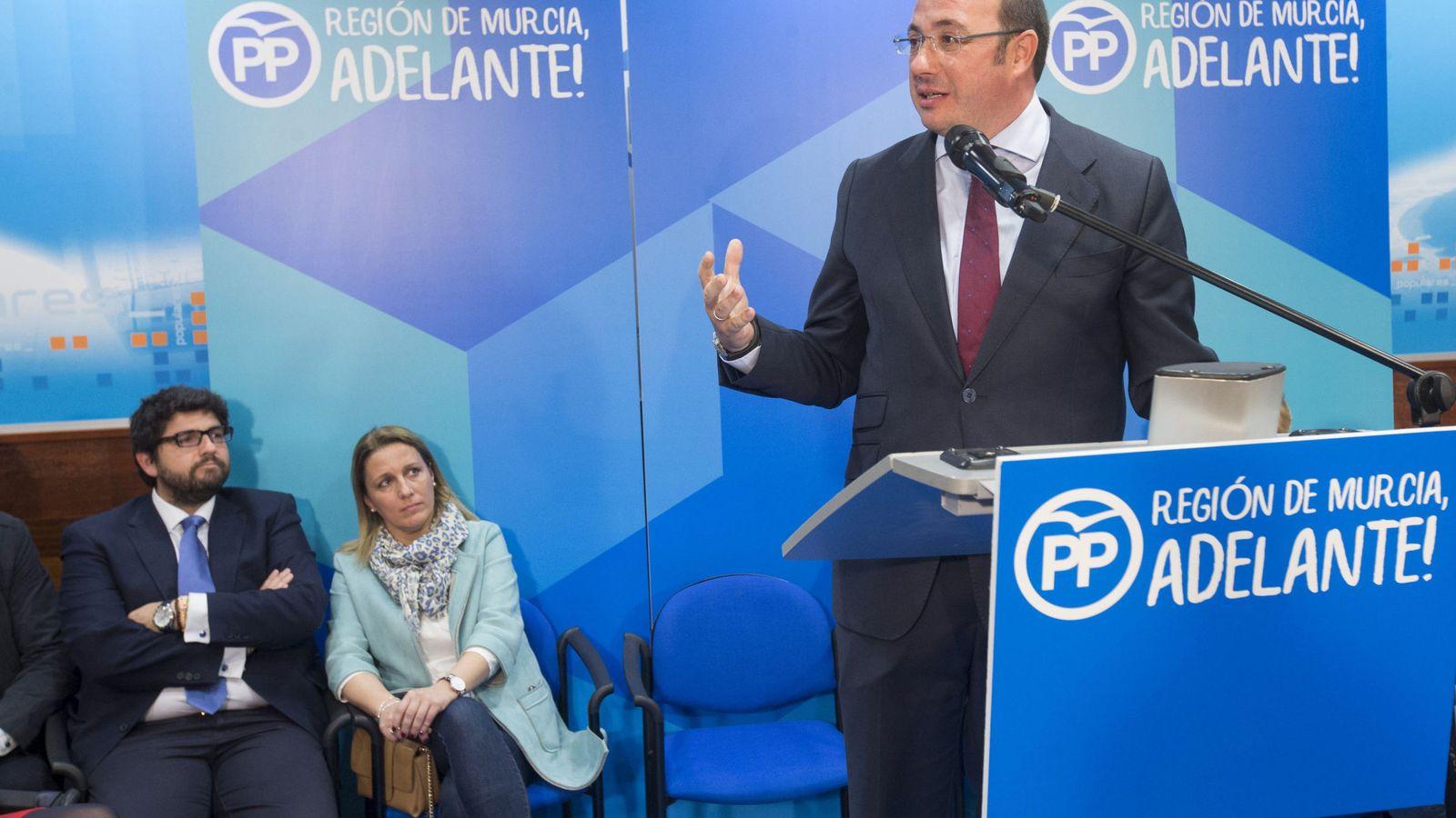 Foto: El expresidente de la Región de Murcia Pedro Antonio Sánchez. (EFE)