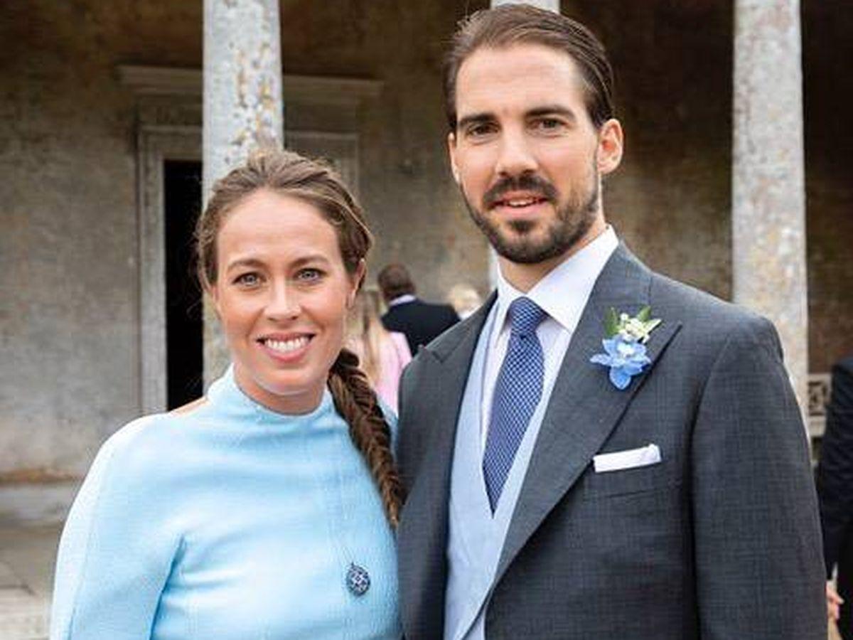 Foto: El príncipe Philippos de Grecia y su prometida, Nina Flohr. (Instagram @ninaflohr)