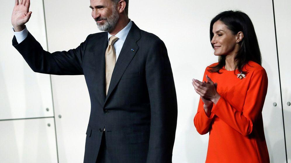 Foto: El rey Felipe y la reina Letizia durante su visita a Argentina. (EFE)
