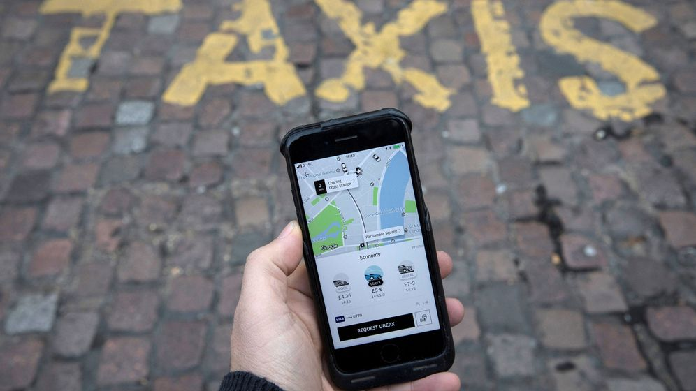 Foto: Cómo funciona Uber y por qué el mundo del taxi ha acudido a la Justicia. (Reuters)