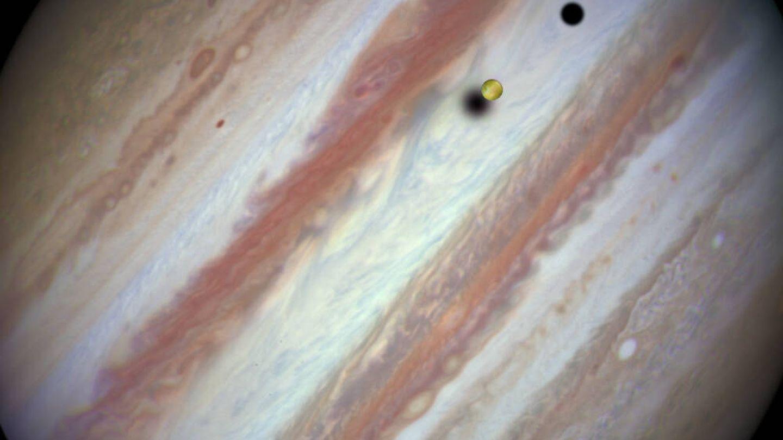 Imagen de Júpiter captada por el telescopio Hubble. (NASA)