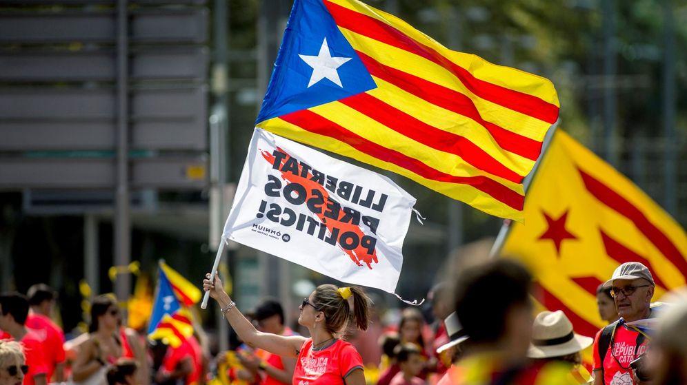 Foto: Imagen de archivo de una manifestación independentista. (EFE)