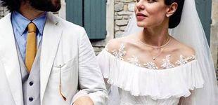 Post de Carlota Casiragui y el bohemio vestido de su boda religiosa