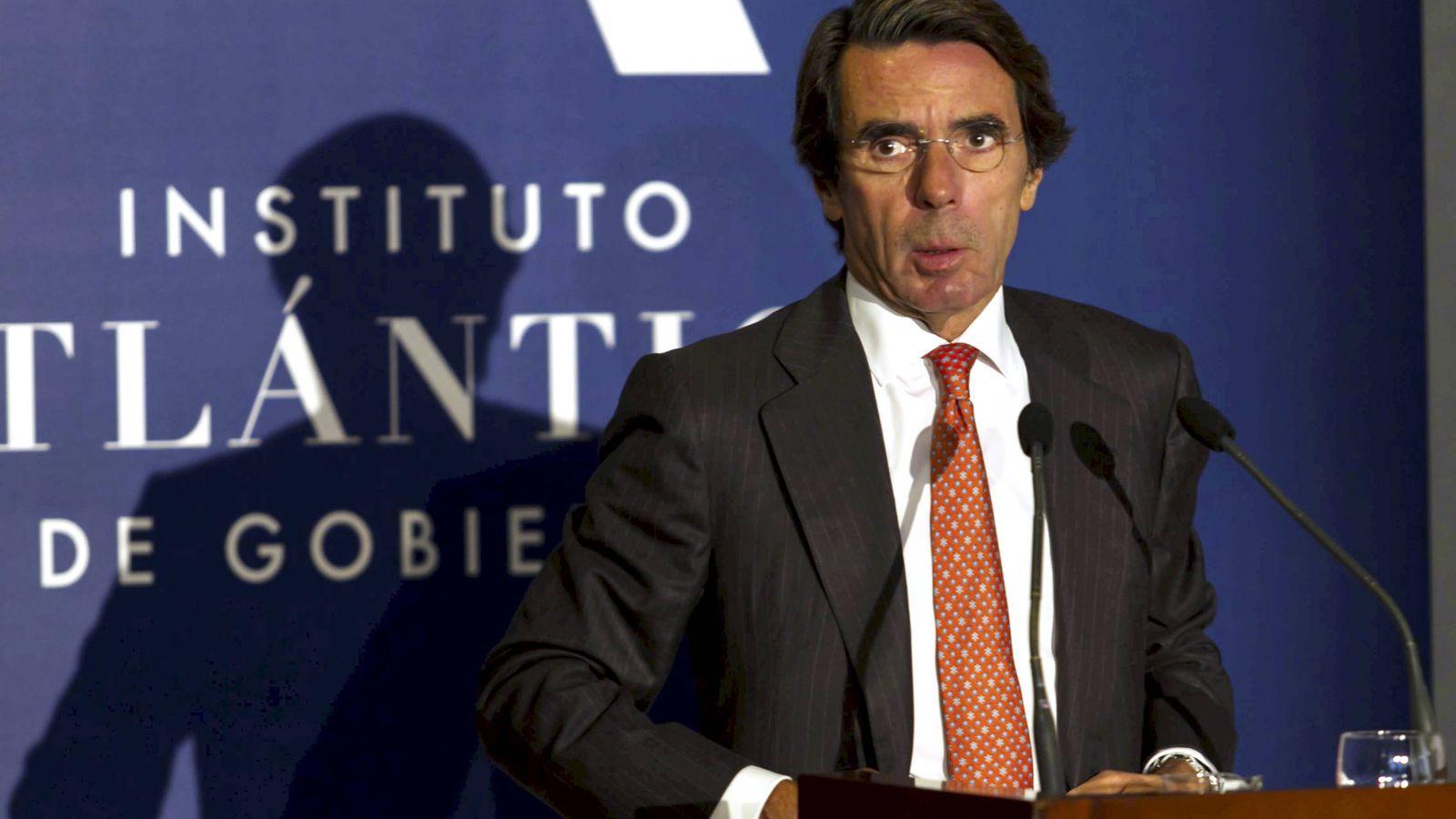 Foto: José María Aznar. (Gtres)