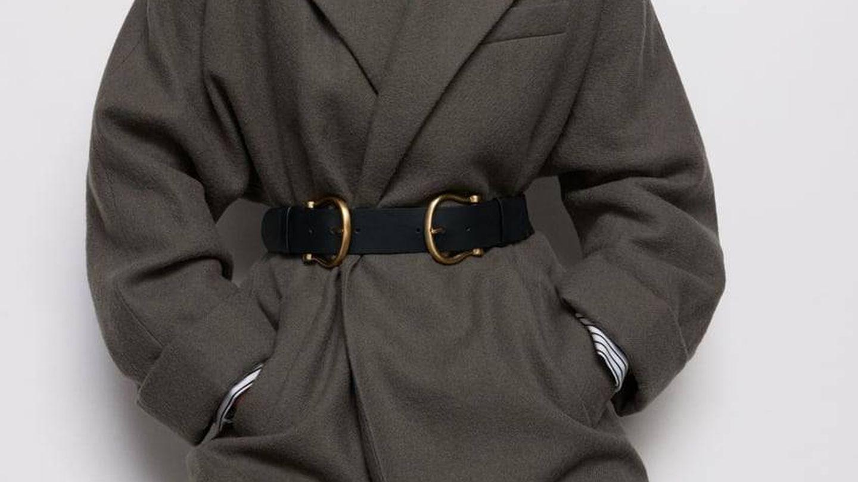 Cinturón estilizador de Zara. (Cortesía)