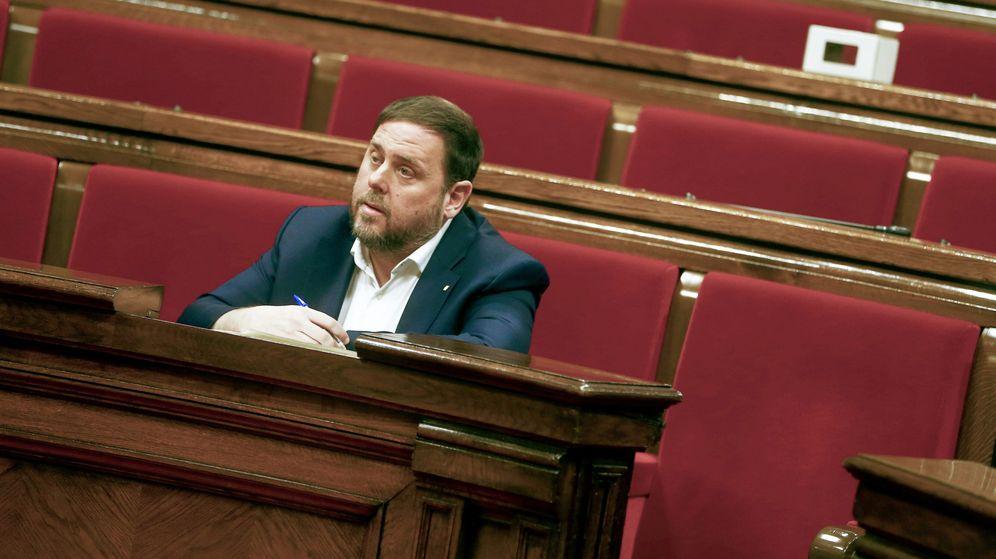 Foto:  El vicepresidente de la Generalitat de Cataluña,Oriol Junqueras. (Efe)