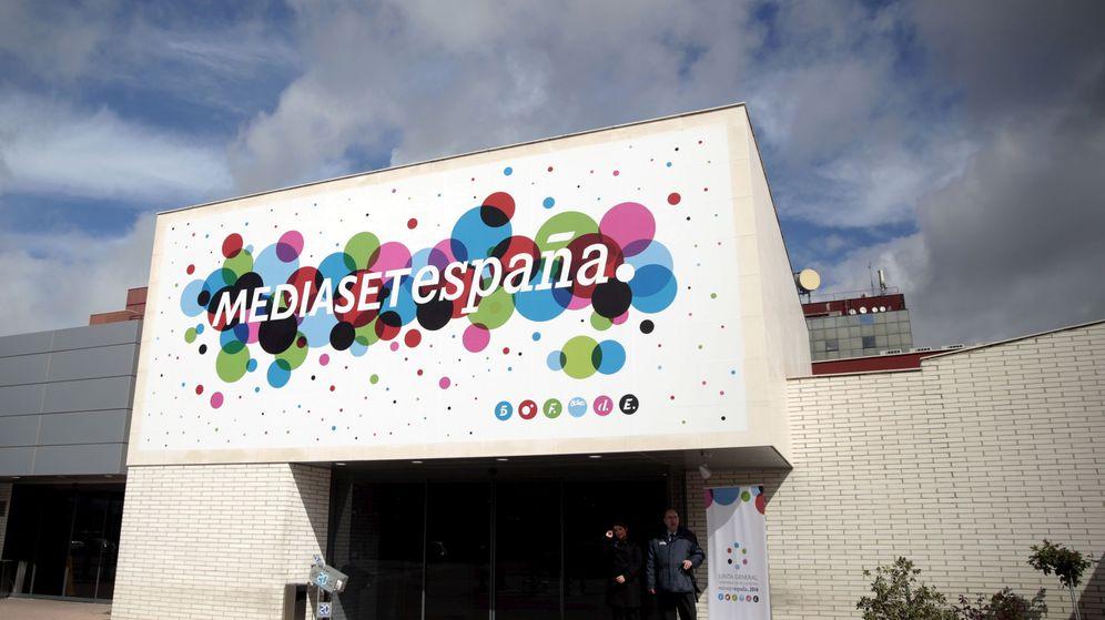 Foto: Exterior de la sede de Mediaset España. (Reuters)