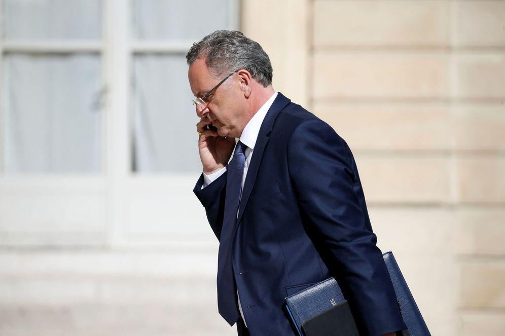 Foto: El ministro Richar Ferrand a su llegada al Elíseo, en París. (Reuters)