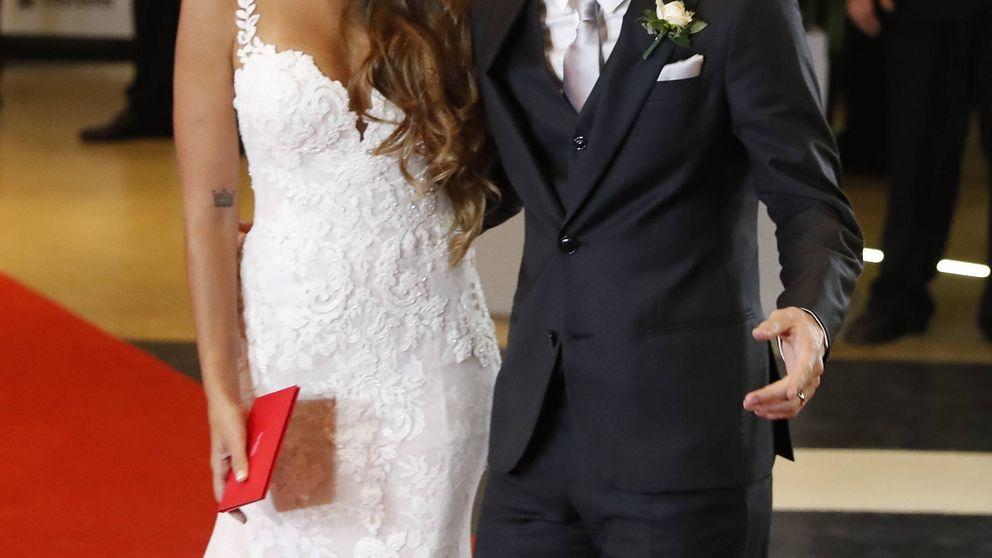 Analizamos detalle a detalle el vestido de Antonella en su boda con Messi