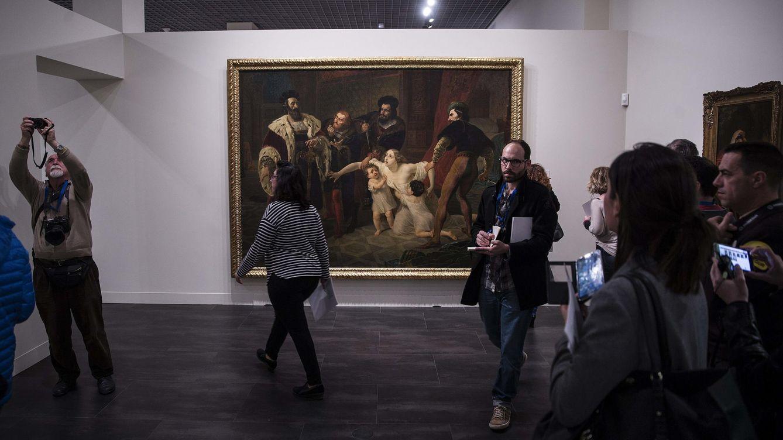 Foto: El museo ruso abre al público en Málaga (EFE)