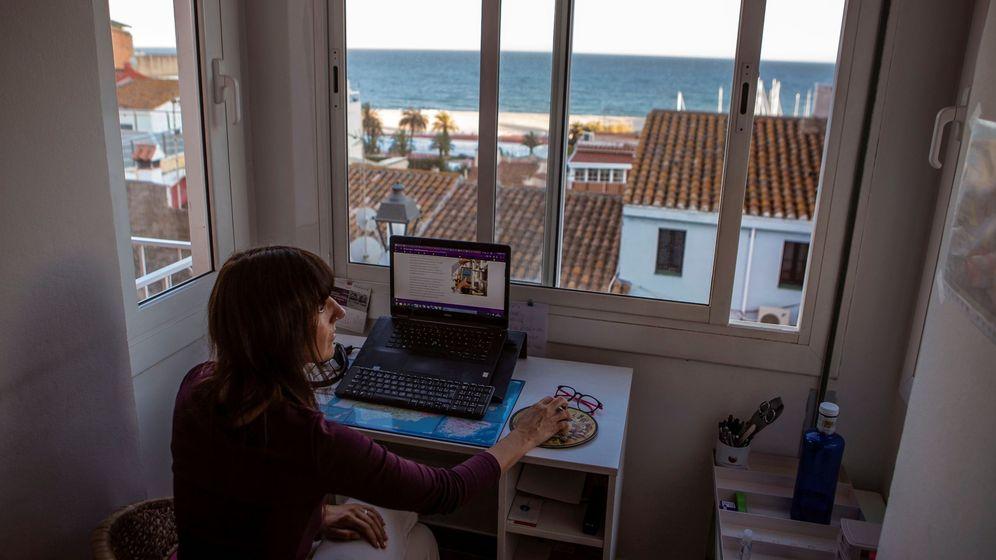 Foto: El teletrabajo es una de las alternativas laborales en tiempos de pandemia. (EFE)