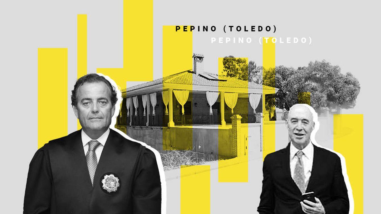 La dura batalla campal entre dos pesos de la justicia por un chalé ilegal en Toledo