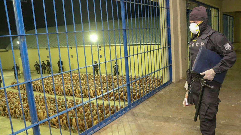 Una cárcel en El Salvador