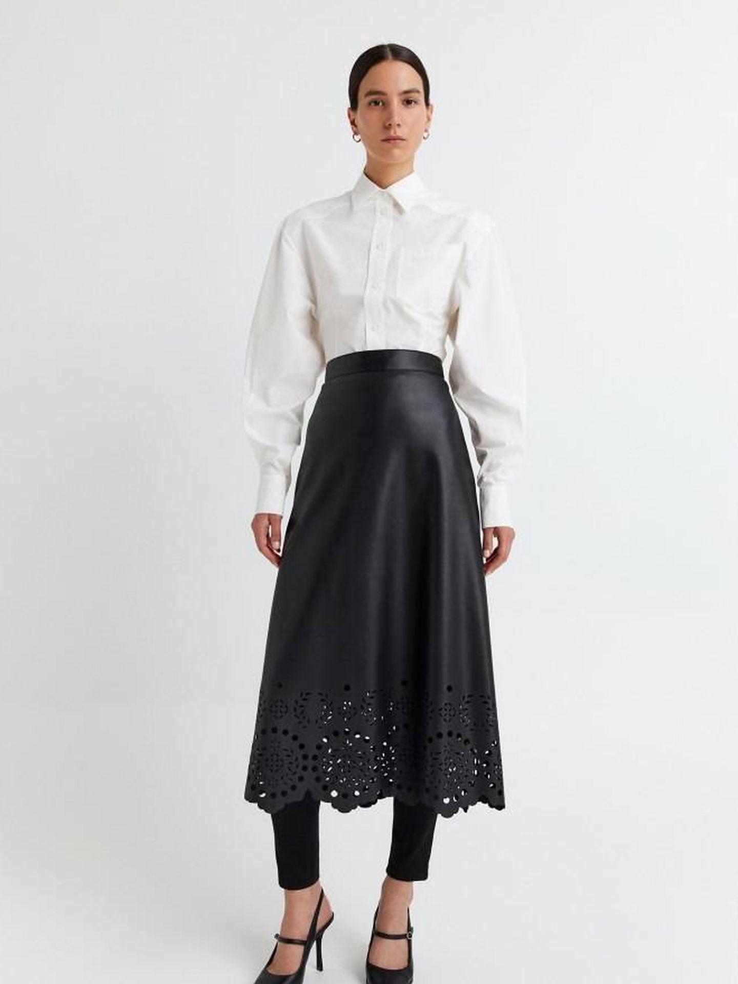 La falda de Sfera. (Cortesía)