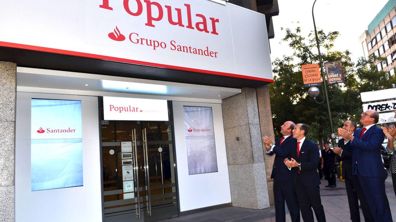 Santander ofrecerá a los 'prejubilables' del Popular las condiciones de su ERE de 2016