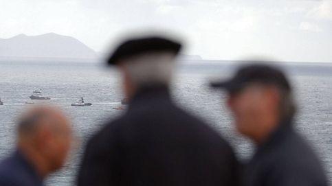 El angustioso rescate de un barco en llamas en el Golfo de Vizcaya