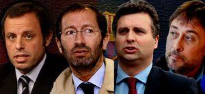 Arranca la carrera electoral para suceder a Laporta
