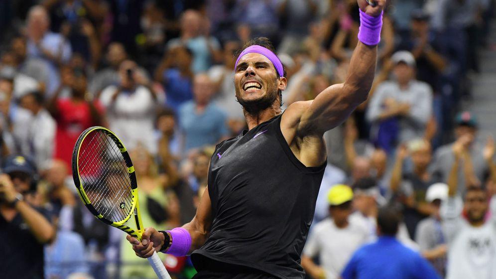 Foto: Rafael Nadal durante el partido contra el croata Marin Cilic. (Reuters)