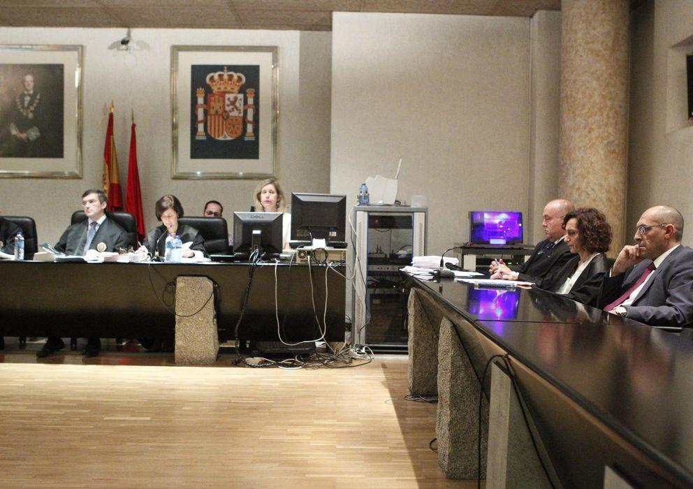 Foto: El juez Elpidio Silva durante el juicio celebrado hoy (EFE)