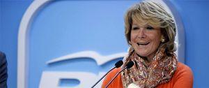 Foto: Aguirre abandona a Soria por dinero, pero sigue controlando al PP de Madrid