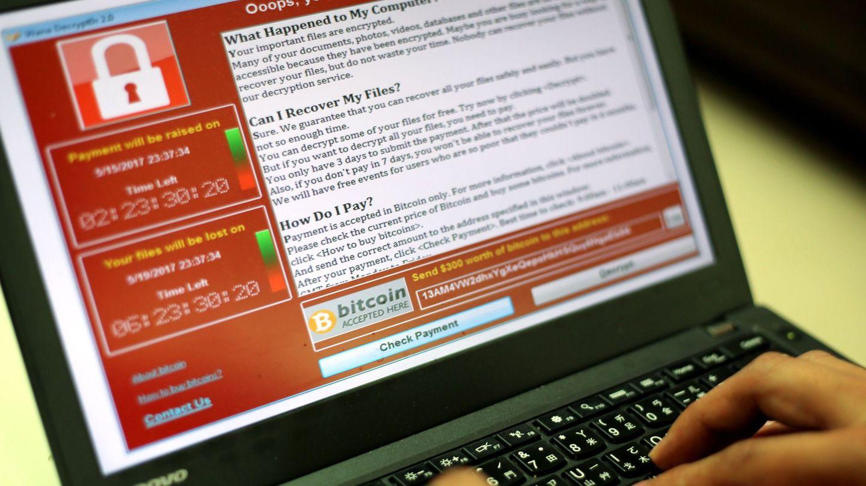 El 'ransomware' WannaCry paralizó miles de empresas de todo el mundo en 2017. (Reuters)