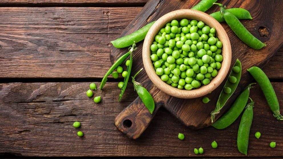 Aprovecha los guisantes: además de dar color, son todo proteínas