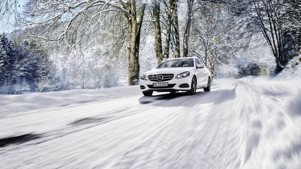 Foto: Con neumáticos de invierno se circula con total seguridad sobre nieve y hielo.