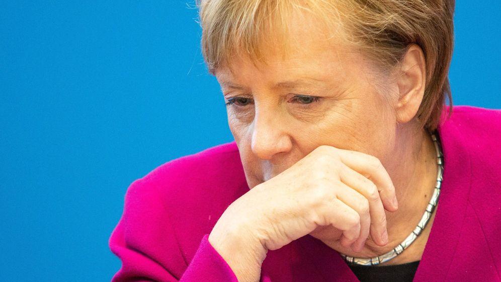 Foto: Merkel no se presentará a reelección como presidenta de la cdu, según medios