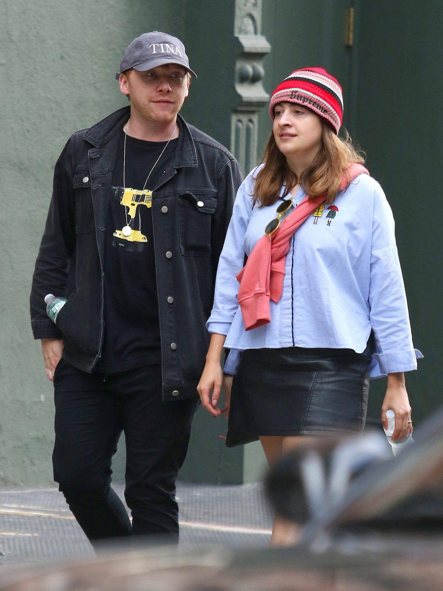 Rupert y Georgia, en una imagen reciente. (CP)