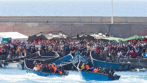Canarias cambia Arguineguín por carpas y cuarteles, pero la crisis va a continuar