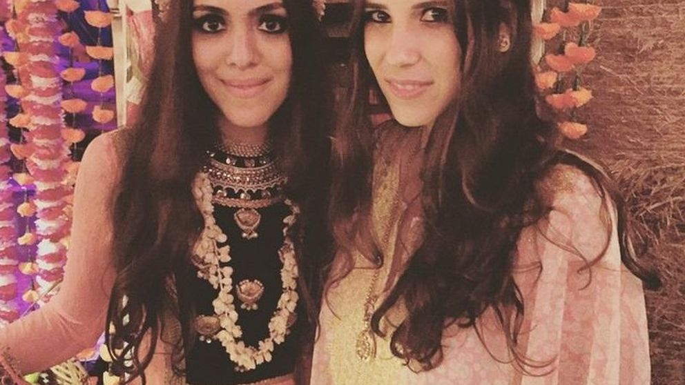 Instagram-Tatiana Santo Domingo se va de boda oriental con sus amigas