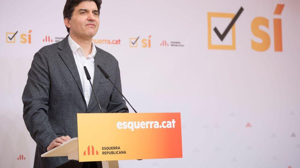 Foto: El portavoz de ERC, Sergi Sabrià. (EFE)
