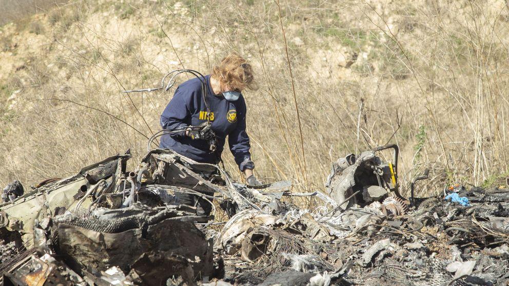 El helicóptero de Kobe Bryant descendió 600 metros por minuto y no por fallo mecánico