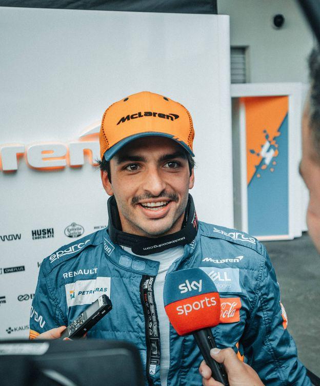 Foto: A pesar de terminar por detrás de los Toro Rosso en los segundos libres, Sainz confía en aprovechar algún problema de los tres primeros equipos el domingo. (McLaren)