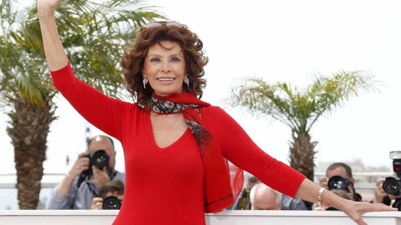 Sophia Loren tiene 83 años, y cualquiera lo diría. (EFE)