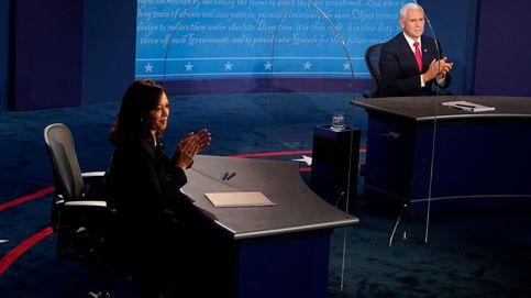 Cuatro grandes momentos del debate Pence-Harris: la mosca llegó, vio y venció