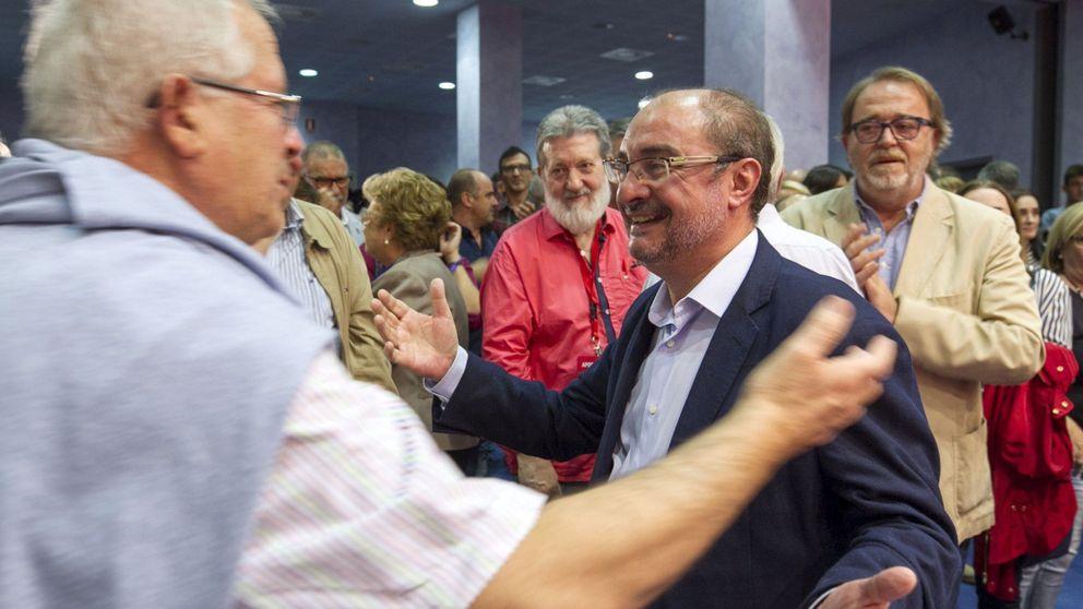 Sánchez pierde el pulso contra Lambán y no logra imponer a su favorito en Galicia