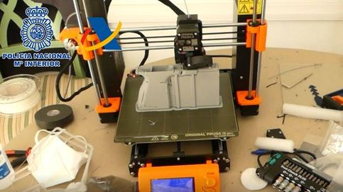 Desarticulan en Tenerife el primer taller ilegal de impresión de armas en 3D