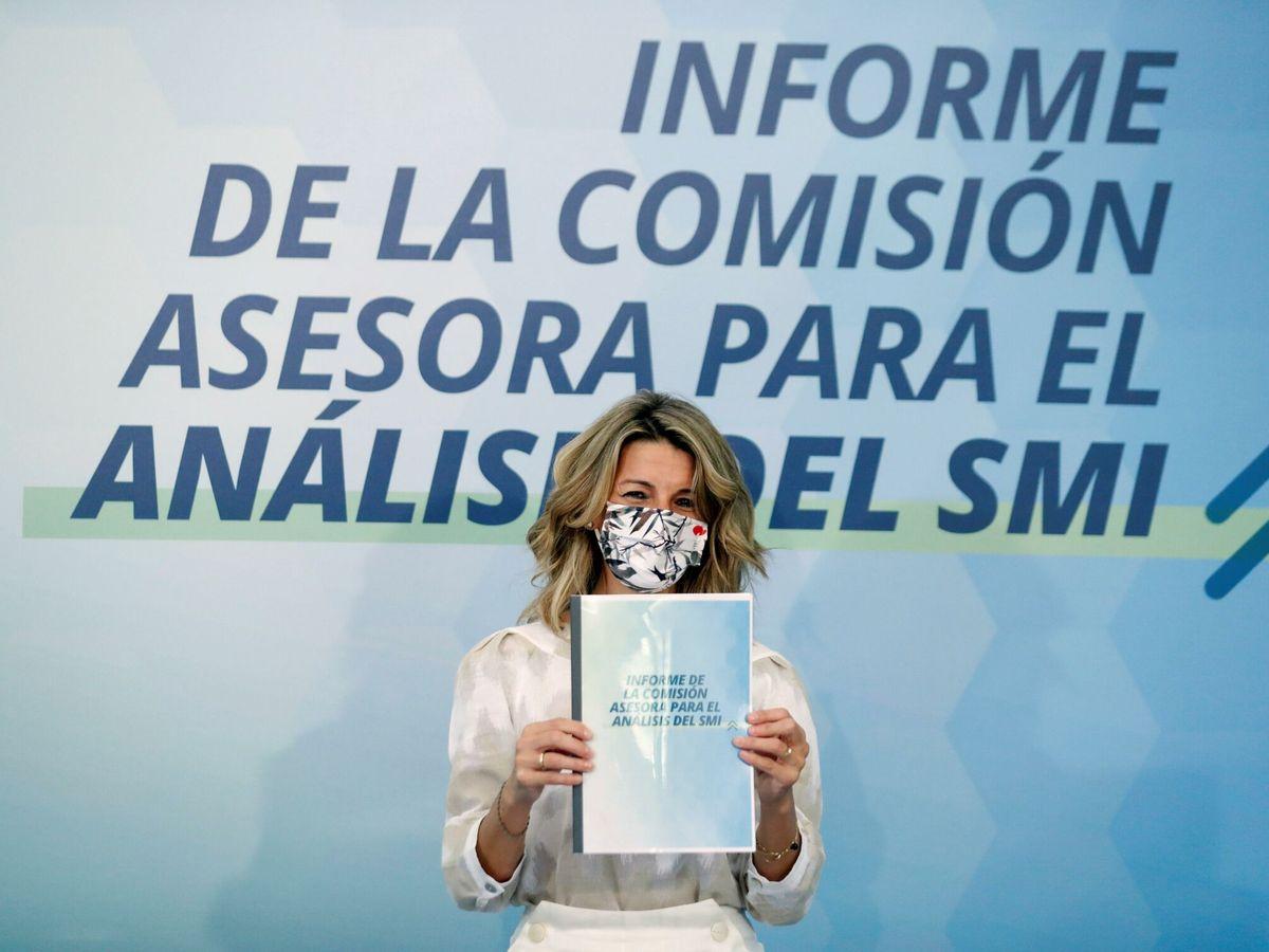 Foto: La vicepresidenta tercera y ministra de Trabajo y Economía Social, Yolanda Díaz. (EFE)
