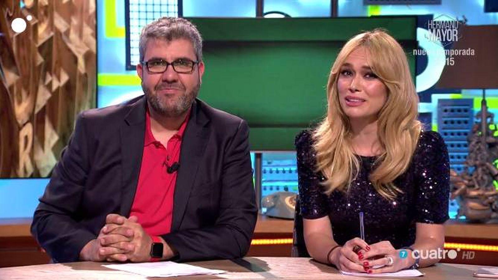 Foto: Florentino Fernández se reencuentra con Patricia Conde en 'Dani & Flo'.