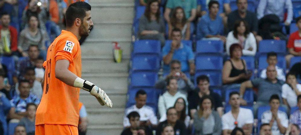 Foto: Kiko Casilla se pondrá de inmediato a las órdenes de Rafa Benítez (Reuters)