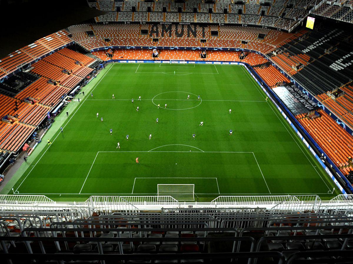 Foto: El campo actual de Mestalla, del Valencia CF. (Reuters)