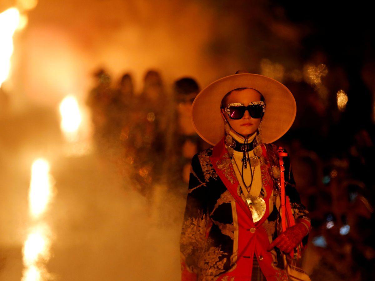 Foto: Gucci quiere estar en el centro de la conversación cultural. (Reuters)