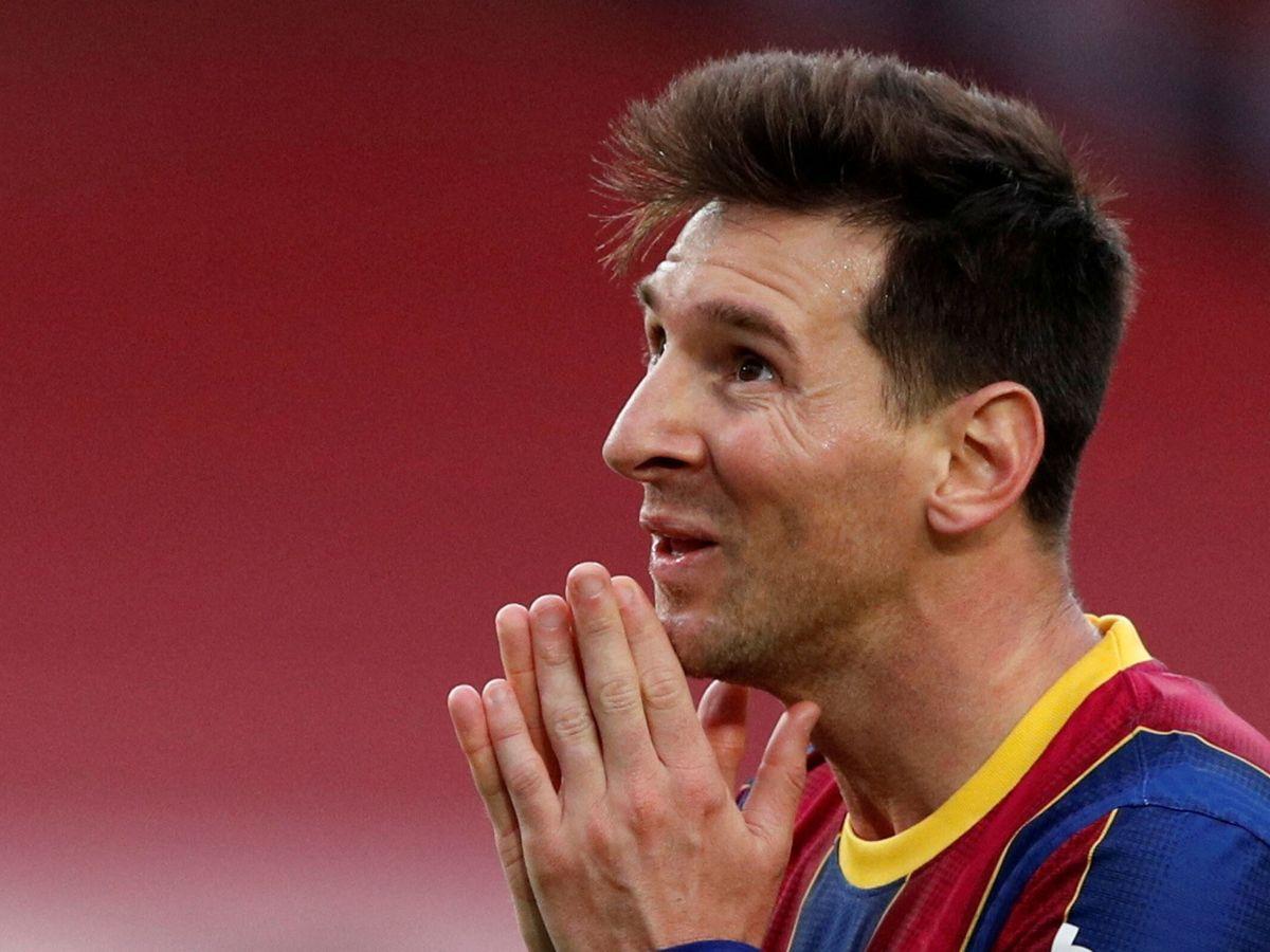Foto: Leo Messi durante el partido entre el Barcelona y el Celta en la Liga. (Efe)