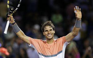 Ni la amenaza de un paquete sospechoso detiene a Nadal ante Fabio Fognini en Miami