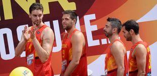 Post de La FEB quiere retirar las camisetas de Gasol, Navarro, Calderón y Reyes