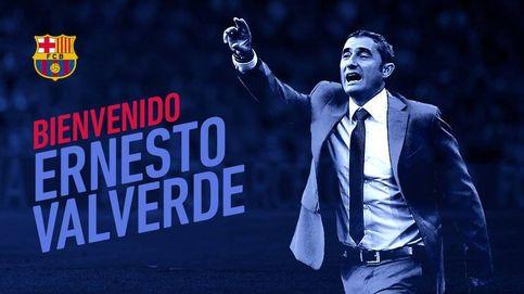 Ernesto Valverde, nuevo entrenador del Barcelona para los dos próximos años