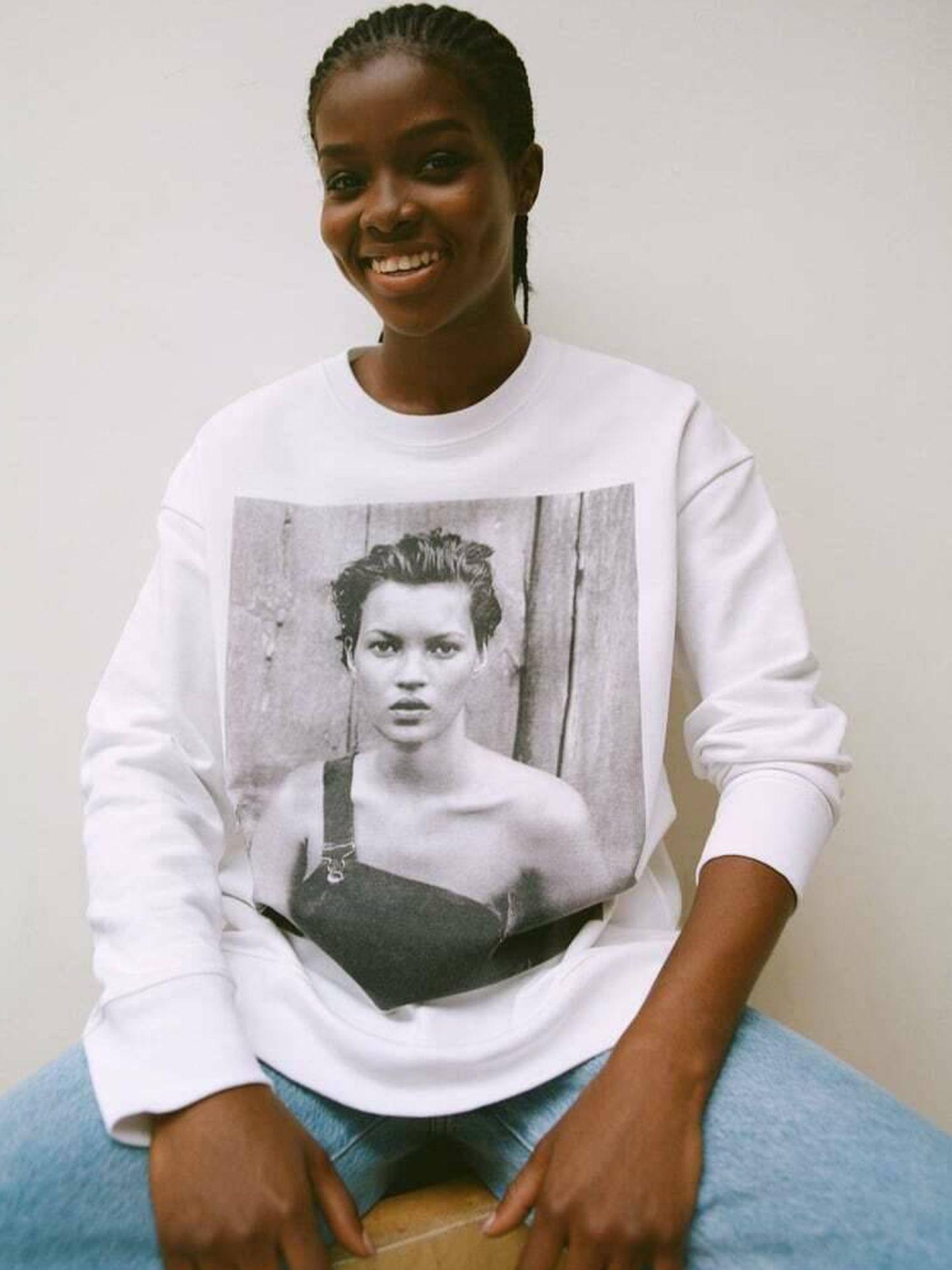 Una de las sudaderas incluidas en la colección 'Zara Tribute'. (Cortesía)