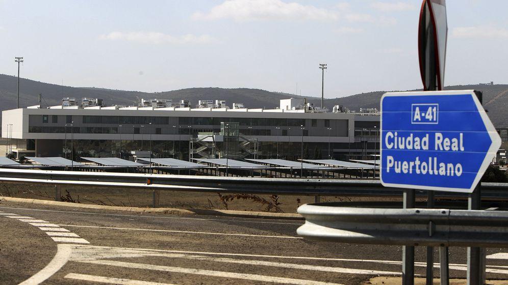 Foto: Vista del aeropuerto de Ciudad Real. (Efe)