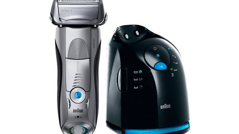 Máquina de afeitar de láminas Braun 799CC-7 Profesional